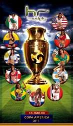 Calendario hot Copa America 2016